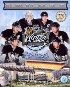 Penguins 2011 Winter Classic Pittsburgh 8x10 Photo