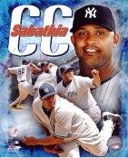CC Sabathia New York Yankees 8x10 Photo