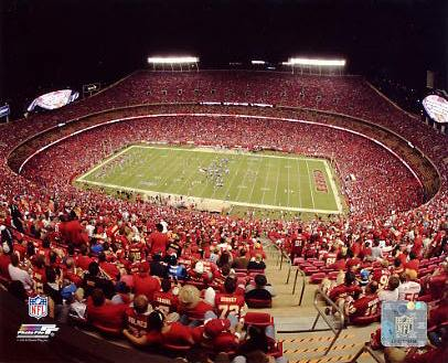 E3 Arrowhead Stadium KC Chiefs 8X10 Photo
