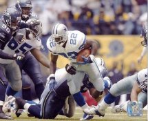 Emmitt Smith All Time Rushing Yard Leader Dallas Cowboys 8X10 Photo LIMITED