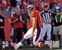 Tim Tebow 1st NFL Touchdown LIMITED STOCK Denver Broncos 8X10 Photo