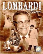 Vince Lombardi Portrait Plus Green Bay Packers 8X10 Photo