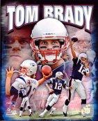 Tom Brady Portrait Plus New England Patriots SATIN 8X10 Photo LIMITED STOCK
