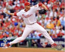 Roy Halladay Pitching 2nd Perfect Game Philadelphia Phillies 8X10 Photo
