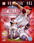 Roy Halladay 2nd No Hitter Phillies LTD Composite 8X10 Photo