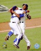 Bengie Molina & Neftali Feliz Texas Rangers 8X10 Photo