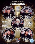 Penguins 2010 - 2011 Pittsburgh Team Composite 8x10 Photo