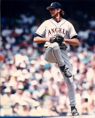 Chuck Finley Anaheim Angels 8X10 Photo