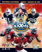 Raiders 2003 Oakland LIMITED STOCK Team 8X10