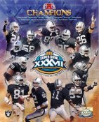 Charles Woodson,Jerry Rice,Tim Brown,Bill Romanowski  LIMITED STOCK Oakland Raiders 8X10 Photo