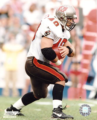 Mike Alstott LIMITED STOCK Tampa Bay Bucs 8x10 Photo