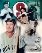 Ted Williams LIMITED STOCK Boston Red Sox NO HOLOGRAM 8X10 Photo