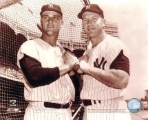 Roger Maris and Mickey Mantle LIMITED STOCK New York Yankees 8x10 Photo