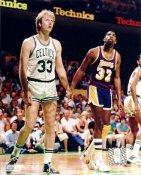 Larry Bird & Magic Johnson Boston Celtics / Lakers 8X10 Photo LIMITED STOCK