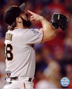 Brian Wilson Game 5 Win 2010 World Series San Francisco Giants 8X10 Photo