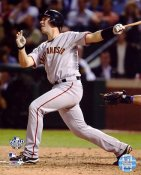 Buster Posey Game 4 Win 2010 World Series San Fran Giants 8X10 Photo