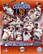 Giants 2010 San Francisco World Series Champions 8X10 Photo