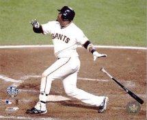 Juan Uribe 2010 World Series Home Run LIMITED STOCK San Francisco Giants 8x10 Photo