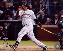 Edgar Renteria 2010 World Series 3 Run Home Run Game 5 LIMITED STOCK San Francisco Giants 8X10 Photo