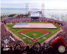 N2 AT&T Park 2010 World Series Game 1 San Francisco Giants 8X10 Photo