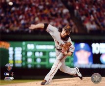 Tim Lincecum 2010 World Series Game 5 San Francisco Giants 8X10 Photo