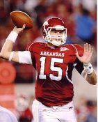 Ryan Mallett Arkansas Razor Backs 8X10 Photo