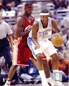 Carmelo Anthony & Lebron James LIMITED STOCK Denver Nuggets 8X10 Photo