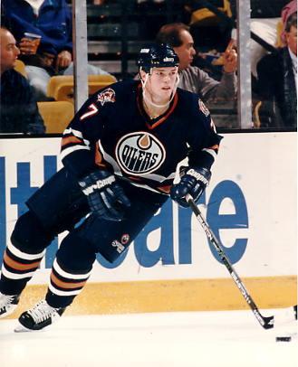 Jason Arnot Edmonton Oilers 8x10 Photo