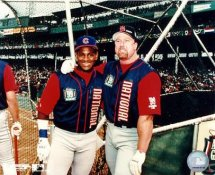 Sammy Sosa & Mark McGwire All Star Game LIMITED STOCK Chicago Cubs 8X10 Photo