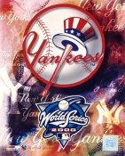 Yankees New York Logo World Series 2000 LIMITED STOCK 8X10 Photo