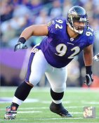 Haloti Ngata LIMITED STOCK Baltimore Ravens 8X10 Photo
