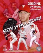 Roy Halladay 2010 NL Cy Young Winner Philadelphia Phillies 8X10 Photo