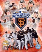 Giants 2010 World Series LTD Composite 8X10 Photo