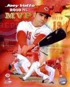 Joey Votto 2010 NL MVP Cincinatti Reds 8X10 Photo