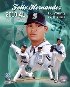 Felix Hernandez 2010 AL Cy Young Winner Seattle Mariners 8X10 Photo