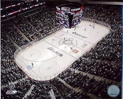 N2 Consol Energy Center 1st Game 2010 Pittsburgh Penguins 8x10 Photo