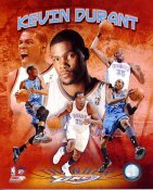 Kevin Durant 2011 Portrait Plus Oklahoma Thunder SATIN 8X10 Photo LIMITED STOCK