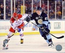 Sidney Crosby & Alexander Ovechkin 2011 Winter Classic 8x10 Photo