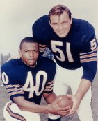 Gale Sayers & Dick Butkus LIMITED STOCK Chicago Bears 8X10 Photo