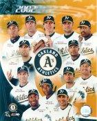 Mark Mulder, Barry Zito, David Justice, Miguel Tejada, Carlos Pena, Tim Hudson,Eric Chavez LIMITED STOCK Oakland Athletics 8X10 Photo