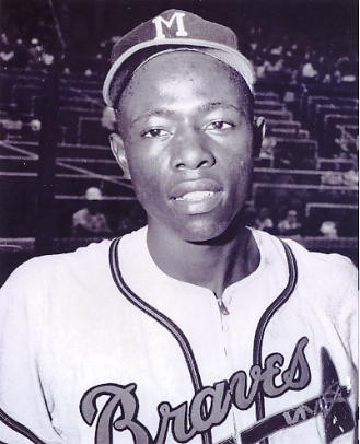 Hank Aaron LIMITED STOCK Milwaukee Braves 8X10 Photo