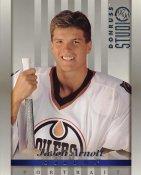 Jason Arnott LIMITED STOCK DonRuss Studio 1997 Edmonton Oilers 8x10 Photo