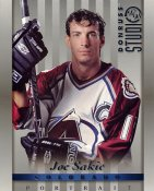 Joe Sakic LIMITED STOCK DonRuss Studio 1997 Colorado Avalanche 8x10 Photo