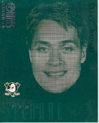 Teemu Selanne LIMITED STOCK DonRuss Studio 1997 Silhouettes 0704/3000 Mighty Ducks of Anaheim 8x10 Photo