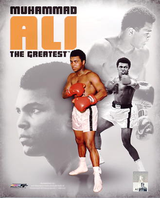 Muhammad Ali Portrait Plus LIMITED STOCK SATIN 8x10 Photo