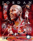Michael Jordan Portrait Plus Chicago Bulls SATIN 8X10 Photo LIMITED STOCK
