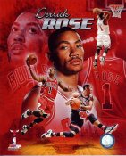 Derrick Rose Chicago Bulls 8X10 Photo LIMITED STOCK
