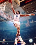 Julius Erving Philadelphia 76ers SATIN 8X10 Photo