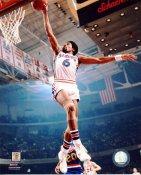 Julius Erving Philadelphia 76ers SATIN 8X10 Photo LIMITED STOCK