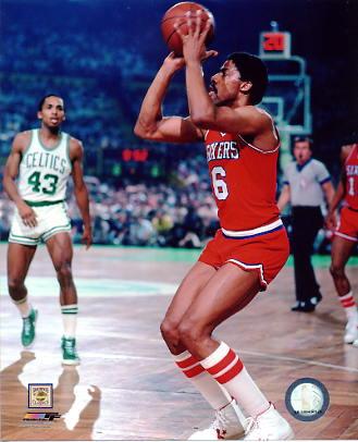 Julius Erving Philadelphia 76ers 8X10 Photo LIMITED STOCK